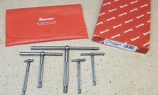 Starrett No 229 Telescoping Gages Set Of 5 12 To 6 Made In Usa