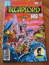 WARLORD Enter the Lost World of .. DC Comic Plus OMAC! # 42 Feb, 1981 NM