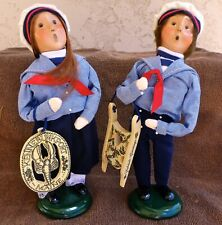 Byers Choice Christmas House Store Exclusive Nautical Kids with Scrimshaw