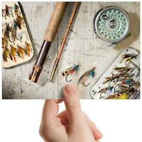 """Fishing Tackle Lures Sports Small Photograph 6"""" x 4"""" Art Print Photo Gift #15688"""