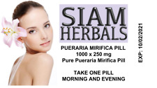 1000 PILL PUERARIA MIRIFICA BREAST BUST ENLARGEMENT FEMALE ESTROGEN HORMONE