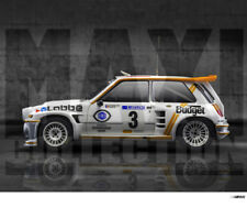 MaxiCollection Resin kit Renault 5 Maxi Turbo -1/24 scale - BUDGET (Kit nº6)