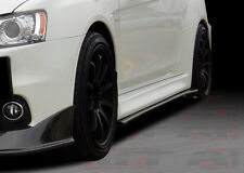 2008-15 Mitsubishi Evo 10 XR2 STYLE carbon fiber SIDE SKIRT AND REAR SKIRT LIP
