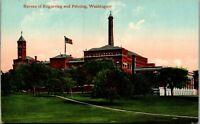Bureau of Engraving and Printing Washington DC Vintage Postcard AU1