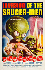 "Invasion Of The Saucer Men Movie Poster Replica 13x19"" Photo Print"