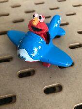 Elmo in Metal Airplane 1994 Henson Kid Dimenson Collectible