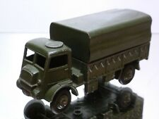 DINKY TOYS 523 ARMY WAGON - MILITARY GREEN L10.5cm - VERY GOOD CONDITION