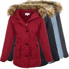 diseñador mujer chaqueta de invierno con NATURAL kunst-fellkragen abrigo parka