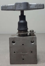Pressure Products Industries, NEEDLE VALVE # V-130-30K, HT-36864(316).