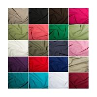 100% Cotton Linen Look Fabric Washed Breathable Soft Material