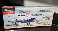 Vintage Monogram Classics model Kit Lockheed super-G Constellation TWA New