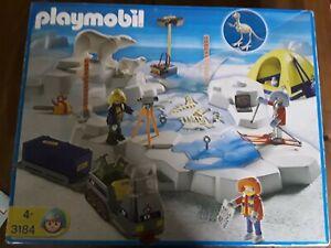 Playmobil 3184 Polarexpedition mit Dinoskelettfund, Komplett, Sammlungsauflösung