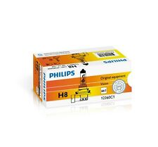 2x PHILIPS H8 12V 35W PGJ19-1 Vision Halogen Scheinwerfer Lampen 2 Stück 12360C1