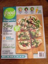 FOOD NETWORK APRIL 2018  MAGAZINE  NEW  103 RECIPES
