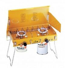 Kovea Deluxe Twin Gas Camp Stove -compare coleman - propane cook *Retail $199.95