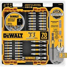 DEWALT MAXFIT Magnetic Screwdriving Set Drill Driver Bits w Screw Lock 70 Piece