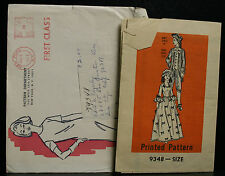 "DOLL PATTERN MAIL ORDER PATTERN DEPARTMENT # 9348 11.5"" COLONIAL BARBIE"