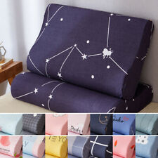 1pc Latex Pillowcase Memory Pillow cases covers zippered 30x50cm/40x60cm