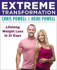 EXTREME TRANSFORMATION - POWELL, CHRIS/ POWELL, HEIDI - NEW PAPERBACK BOOK