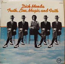 Dick Monda - Truth Lies Magic & Faith LP VG+ V6-5077 Verve 1969 Stereo USA