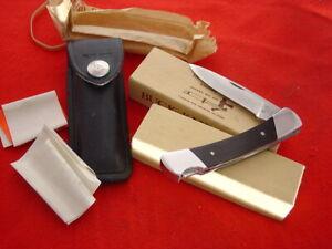 "Buck USA SQUIRE 501 3-7/8"" Lock Blade Pre 1986 Lockback Sheath Knife MINT IN BOX"