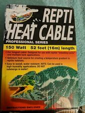 New listing Zoo Med Laboratories - Repti Heat Cable 150 Watts - 52 Feet (16 m) new, open box