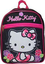 """Hello Kitty Girls Preschool Mini Backpack Toddler BookBag 10"""" Kids Children Bag"""