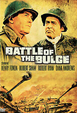 BATTLE OF THE BULGE Classic WWII dvd HENRY FONDA Robert Shaw CHARLES BRONSON '66