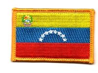 VENEZUELA VENEZUELAN FLAG PATCHES backpack  PATCH BADGE IRON ON NEW EMBROIDERED