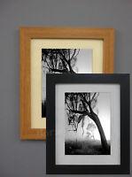 Wood Effect Picture Poster Frames Photo Size Frames Black Light Oak Wall Hang