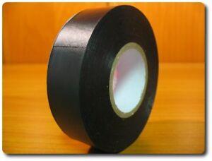 Isotape 19 mm x 25 m Isolierband PROFIQUALITÄT 130mµ schwarz Isoband Klebeband