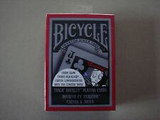 TRAGIC ROYALTY GLOW UNDER BLACKLIGHT BICYCLE DECK PLAYING CARDS - MAGIC TRICKS