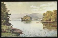 L&NWR Railway Windermere Islands Official PPC