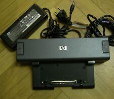 HP Compaq Docking Station C8710w  8710w 8730w Port + AC Adapter Netzteil