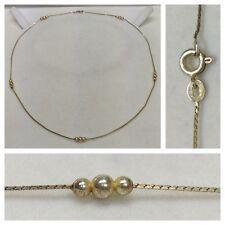 Bella Collar/Collar 835 Plata Bolas Cadena de plata collar de plata