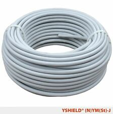 Shielded cable (N)YM(St)-J | 3 x 2.5 mm² | 1 meter | Electrosmog