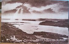Irish Postcard MULROY BAY Sunburst Co. Donegal Ireland Eire CTC Series B 1940s