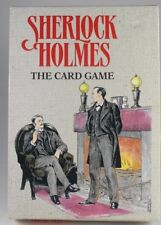 SHERLOCK HOLMES Card Game (Gibsons Games, 1991) - Centenary Edition - UNUSED