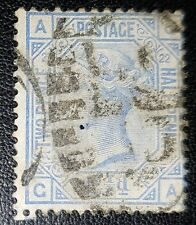 Gb Qv Sg157 Plate 22 G-A used stamp (No693)