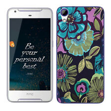 Soft TPU Silicone Case For HTC Desire 628 Protective Back Covers Skins Floral