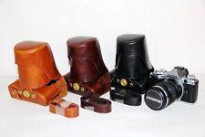 Leather Camera case bag Cover For Olympus OM-D OMD EM5 E-M5
