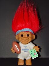 "Troll Doll 4 1/2"" Russ NFL Football Houston Oilers Red Hair"