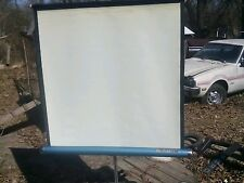 NICE OLD DA LITE PORTABLE PROJECTOR SCREEN by COMET