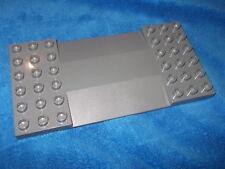 Lego Duplo Bauplatte 6 x 12 Auffahrt grau Waschstraße Waschanlage 95463 5696