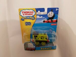 Thomas The Tank Engine Friends TAKE ALONG N PLAY SCRUFF TRAIN DIECAST NEW BOXED