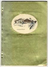 Graf & Gräfin Larisch, handgefertigtes Erinnerungsalbum, Kitzbühel, 1952.