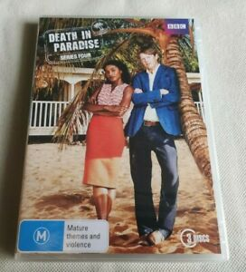 Death In Paradise Series 4 DVD