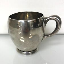 Antique Sterling Silver Punch Cup by Shreve & Co. 5954