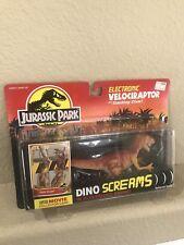 Jurassic Park Electronic Velociraptor Figure Dino Screams Kenner 1993