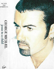 GEORGE MICHAEL JESUS TO A CHILD CASSETTE SINGLE 3track Downtempo Pop Rock Ballad